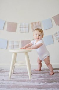 teach baby to walk independently