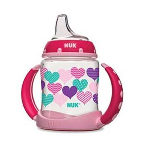NUK-Fashion-Hearts-Learner-Cup,-5-Ounce