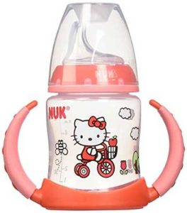 NUK-Hello-Kitty-Learner-Cup-with-Silicone-Spout,-5-Ounce