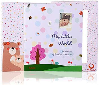 baby keepsake book by redbello