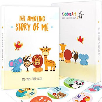 kiddosart memory book for baby