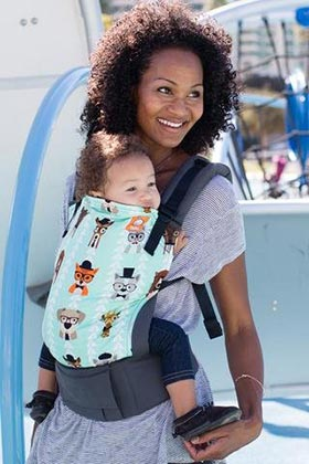 Tula ergonomic baby carrier seat