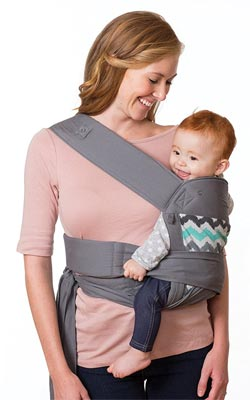 Infantino Sash Wrap and Tie Baby Carrier: