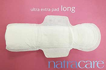 Gladrags Organic Undyed Night Pads For Maternity