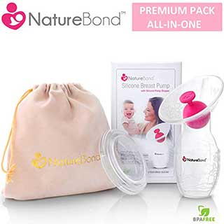 naturebond silicone breastfeeding airtight hardcover
