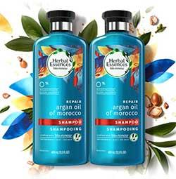 herbal essences biorenew argan oil ogx shampoo