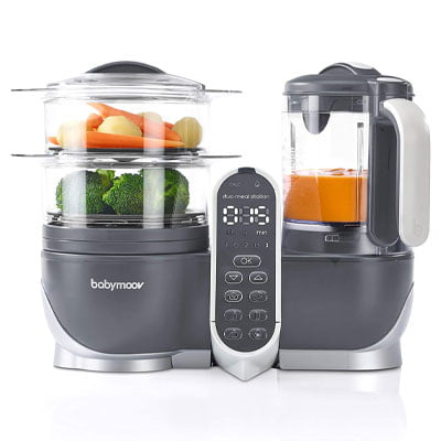 Duo Meal Station Food Maker 6-in-1 Food Processor with Steam Cooker