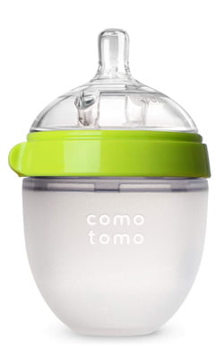 Comotomo Natural Feel Baby Bottle: Best for exclusive breastfeeding
