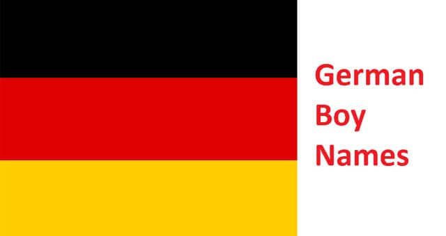 most popular German boy names