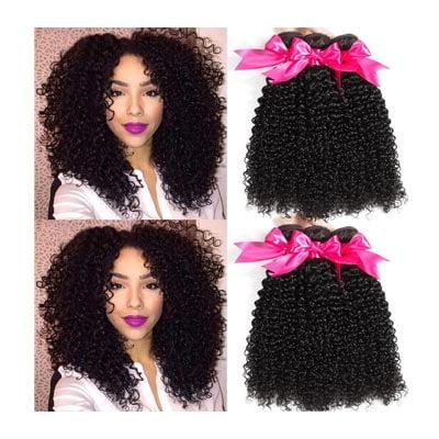 Hermosa 10A Brazilian Curly Hair 3 Bundles