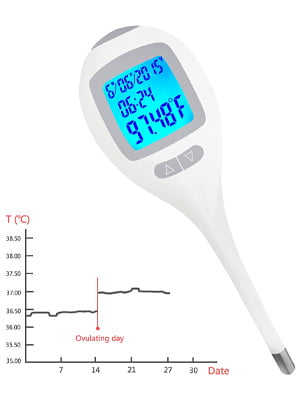 iSnow-Med Digital Basal Body Thermometer