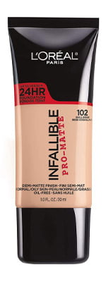 L'Oréal Paris Makeup Infallible Pro-Matte Foundation Shell Beige