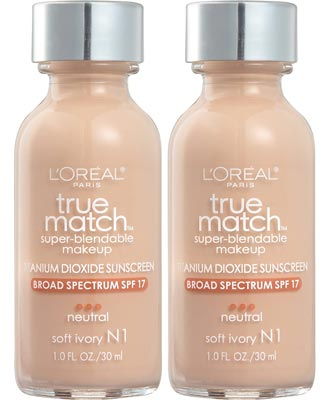 L'Oreal Paris Cosmetics True Match Super-Blendable Foundation Makeup