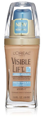 L'Oreal Paris Cosmetics Visible Lift Serum Absolute Foundation