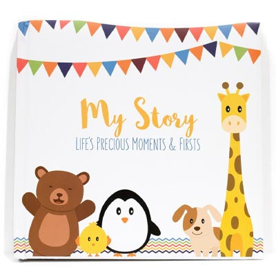 Lovely Sprouts Baby Memory Book: For Single Parents