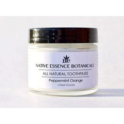 Native Essence Botanicals All Natural Toothpaste: Best Organic Option