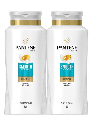 Pantene, Shampoo, with Argan Oil, Pro-V Smooth and Sleek Frizz Control, 25.4 fl oz
