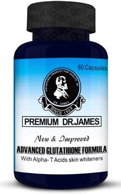 Premium Dr.James Advanced Glutathione 1000mg Skin Whitening Supplement