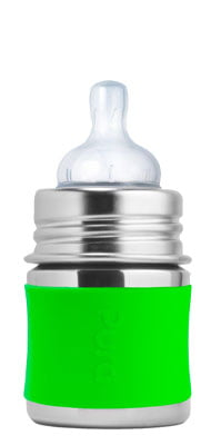Pura Kiki Stainless Infant Bottle Stainless Steel with Natural Vent Nipple: Best Stainless steel baby bottle