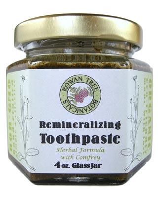 Rowan Tree Botanicals Herbal Toothpaste