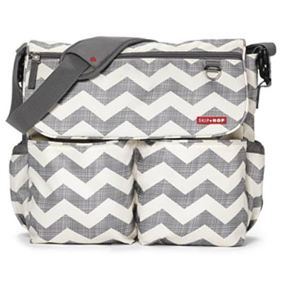 Skip Hop Dash Signature Messenger Diaper Bag