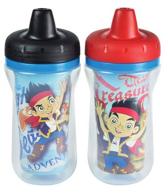 The First Years 2 Pack 9 Ounce Insulated Sippy Cup: For babies ages 9 months