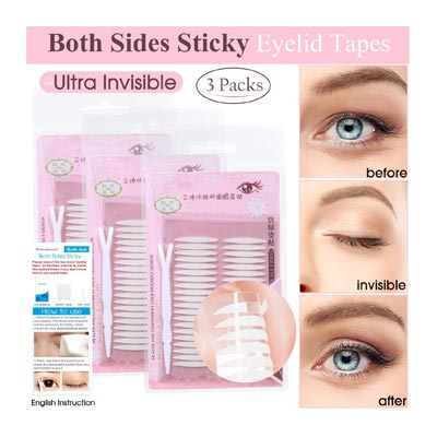 Ultra Invisible Two-sided Sticky Eyelid Tape