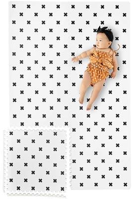 Yay Mats Stylish Extra Large Baby Play Mat Soft Playmat
