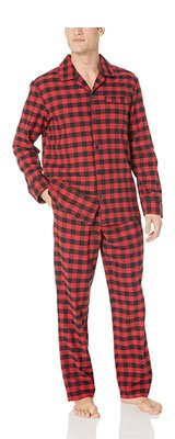 Amazon Essentials Men's Flannel Pajama Set