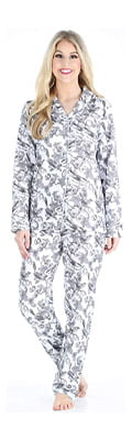 PajamaMania Women's Sleepwear Flannel