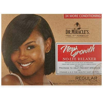 Miracle's New Growth Thermaceutical Intensive No-lye Relaxer