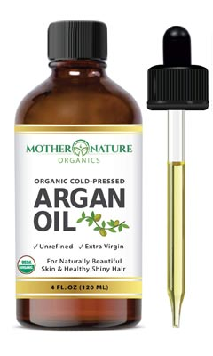 Moroccan Argan Oil by Mother Nature Organics