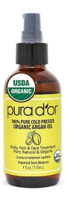 PURA D'OR Organic Moroccan Argan Oil