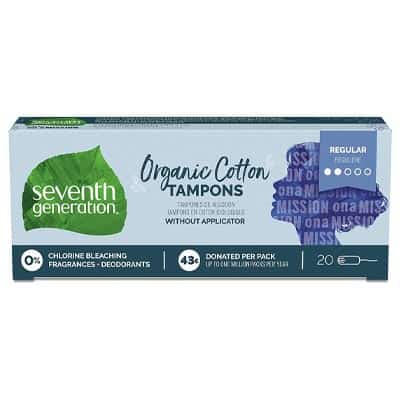 Seventh Generation Organic Cotton Tampons
